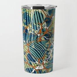Old Marbled Paper 05 Travel Mug