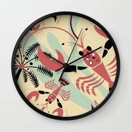 Lobster Rhumba Wall Clock