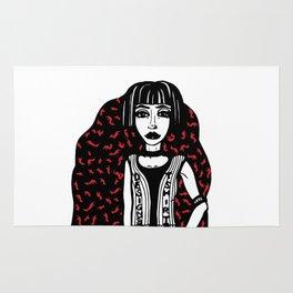 Designer T-Shirt EMO Illustration Rug