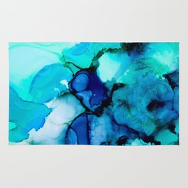 Booming Turquoise Rug