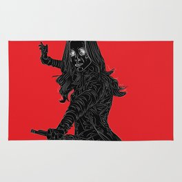 Gamora, GuardiansOfTheGalaxy Rug