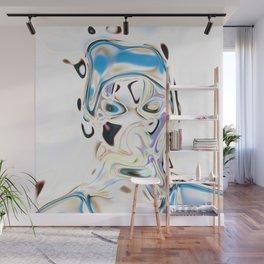 Neural Portrait #2 Wall Mural