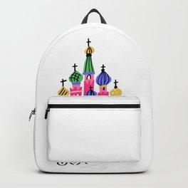 Moscow Kremlin Illustration Backpack