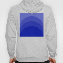Four Shades of Blue Curved Hoody