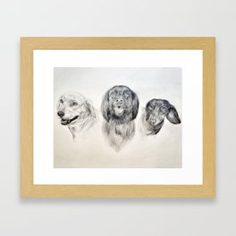 Phillips Print Framed Art Print