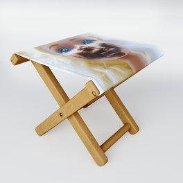 Chica chocoholica Folding Stool