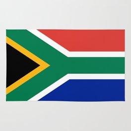 South Africa Flag Rug