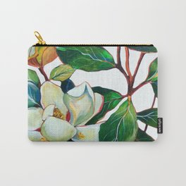 Magnolia Branch Carry-All Pouch