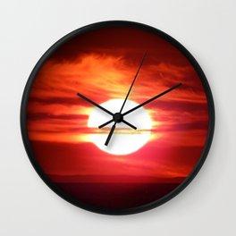 Fireball Above the Saint-Lawrence Wall Clock