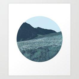 Vittorio Winter Blue Art Print