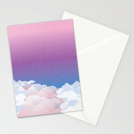 Ethereal Skies Stationery Cards