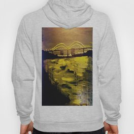 Memphis Skyline at Night Hoody