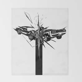CRASH Throw Blanket