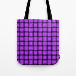 Light Violet Weave Tote Bag