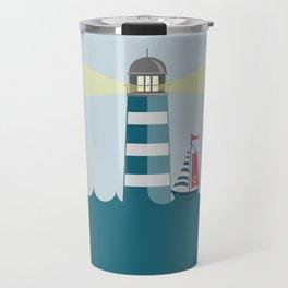 Sea Tower Travel Mug