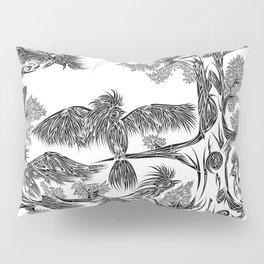 Japanese Birds Pillow Sham