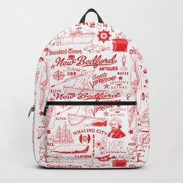 New Bedford Massachusetts Print Backpack