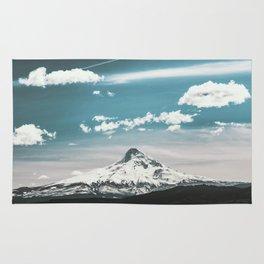 Mountain Morning - Nature Photography Rug