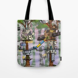 Modern Pixie Kingdom Tote Bag