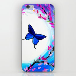 Butterfly Print iPhone Skin