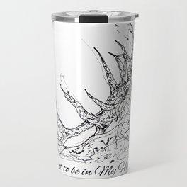 OLena Art Elk Design 'Want to be in My Harem?' Travel Mug