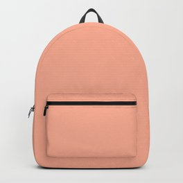 Simply Sweet Peach Coral Backpack