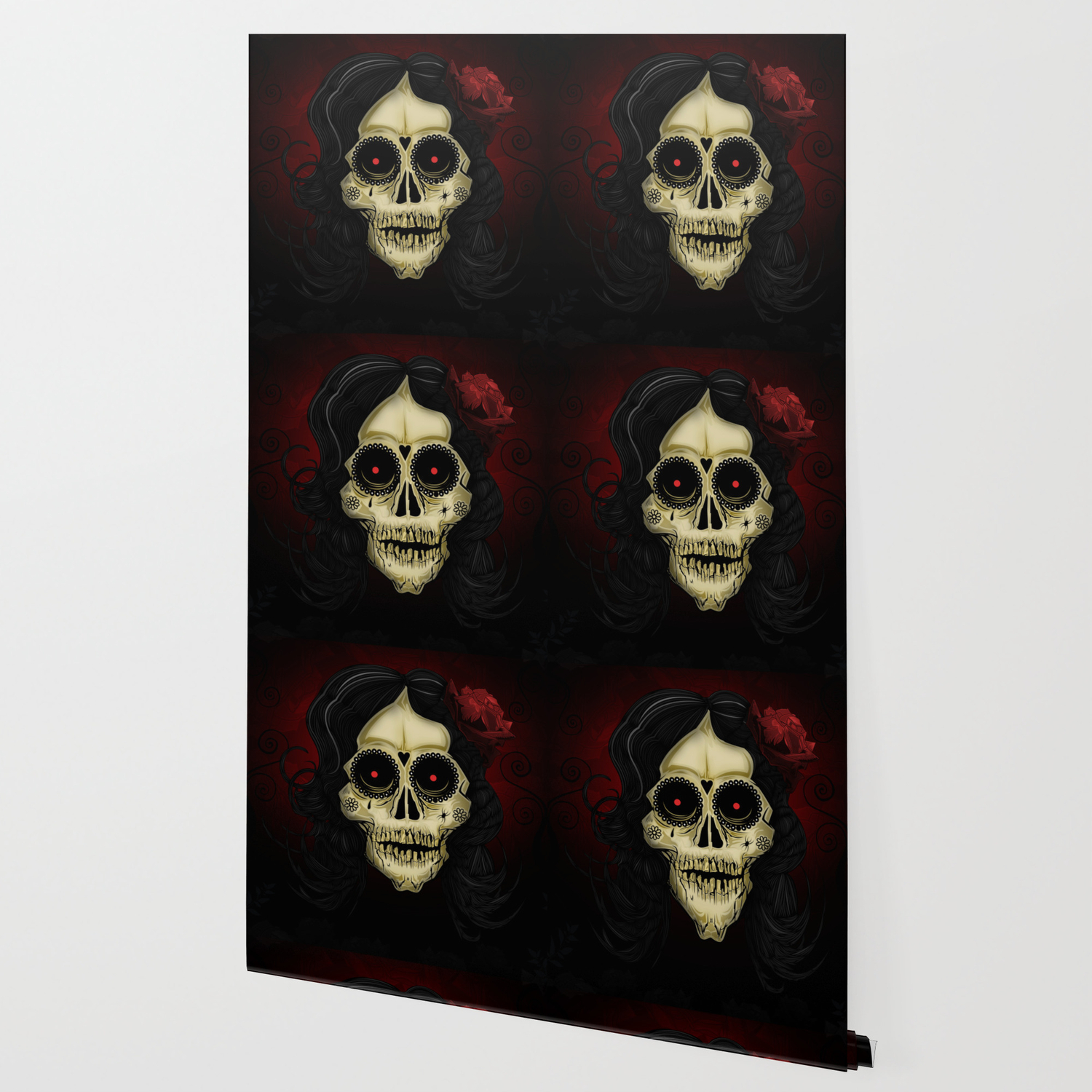 Day Of The Dead Wallpaper By Adamzworld Society6