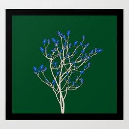 Chick's tree Art Print
