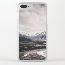 Andes and Patagonia Clear iPhone Case