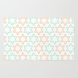 Star Of David Pattern  #society6 #decor #buyart #artprint Rug