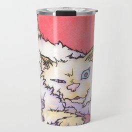 Scream the Cat Travel Mug