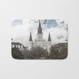 St. Louis Cathedral-New Orleans, Louisiana Bath Mat