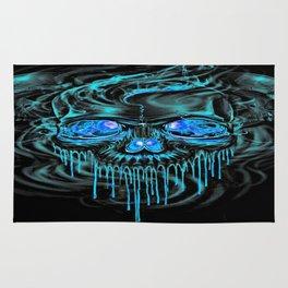 Winter Ice Skeletons Rug