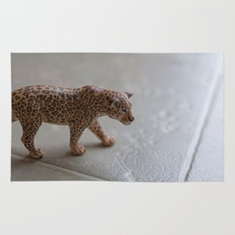 Walking Leopard Rug