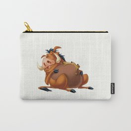 Slipping Timon and Pumbaa Carry-All Pouch