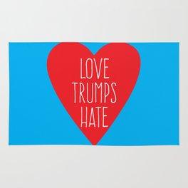 Love Trumps Hate Rug