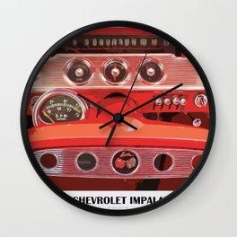 Impala 1961 Wall Clock