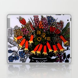 """Christmas Bells"" by Australian Artist Margaret Preston Laptop & iPad Skin"