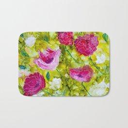 Summer Blooms Bath Mat