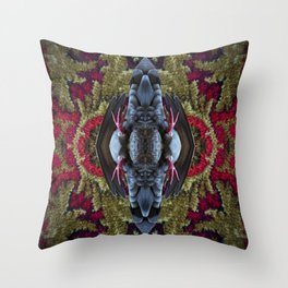 Refracted Reflected Throw Pillow