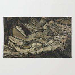 Marcel Duchamp - Nude Descending a Staircase, No. 2 Rug