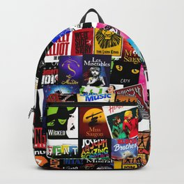 Musicals Collage Backpack