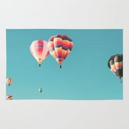 Hot Air Balloon Ride Rug