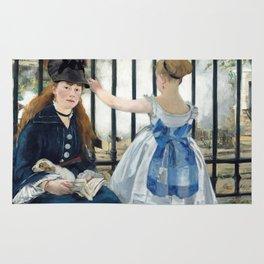 Édouard Manet - The Railway Rug