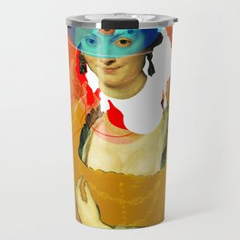 Peter Paul Rubens Pop Portrait Travel Mug