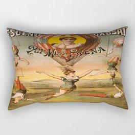 Vintage poster - Descente D'absalon Rectangular Pillow