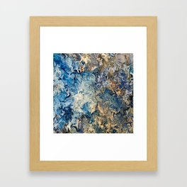 Ocean Blue Framed Art Print
