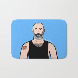 Beard Boy: Philippe Bath Mat