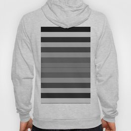 Black and Gray Stripes Hoody
