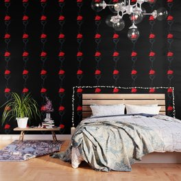 Burning Love - Red Rose Wallpaper